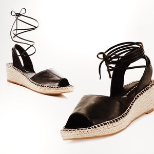 Steve Madden Isadora Espadrilles lace up sandals